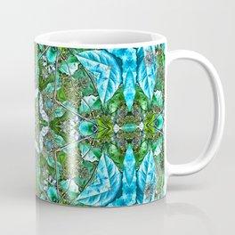 Gorgeous kaleidoscope of rainforest leaves Coffee Mug
