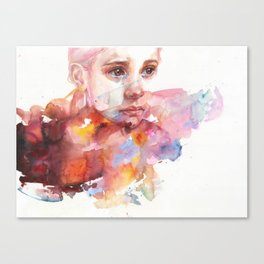 don't worry about it, you're a flower Canvas Print