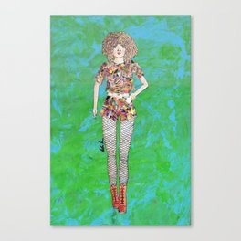 Collage Collection - Regina Canvas Print