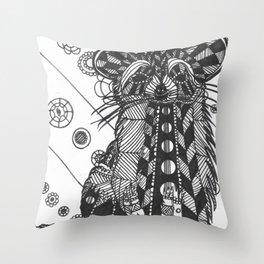 Raccon Throw Pillow