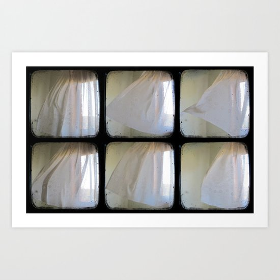 Watching the Wind Blow - Through The Viewfinder (TTV) - Polyptych Art Print