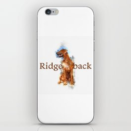 Rhodesian Ridgeback iPhone Skin