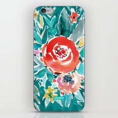 IN FLOW FLORAL iPhone & iPod Skin