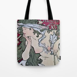 March April 1896 20th Salon des 100 Art Expo Paris France Tote Bag