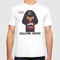 Talking Heads LARGE Mens Fitted Tee White