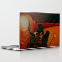 mythology Laptop & iPad Skins featuring Inuit Mythology: Chapter 1, part 8 by Estúdio Marte