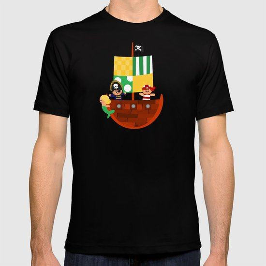 pirate ship T-shirt