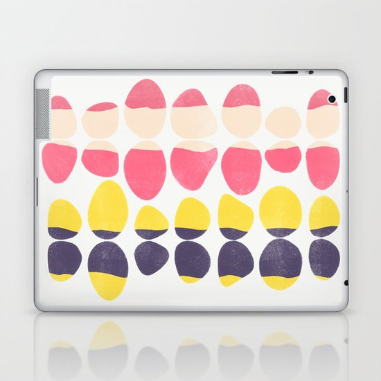 Painted Pebbles 3 Laptop & iPad Skin