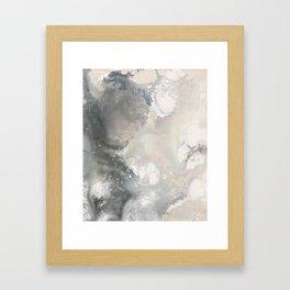 Liquid Neutrals Framed Art Print