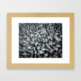 The White Temple - Thailand - 010 Framed Art Print