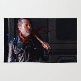 Negan And Lucille - The Walking Dead Rug