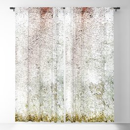 Abstract wall red painting Blackout Curtain