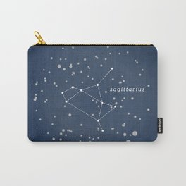 SAGITTARIUS - Astronomy Astrology Constellation Carry-All Pouch
