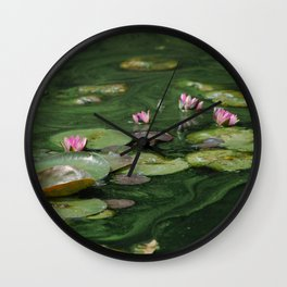 Water Colors Wall Clock