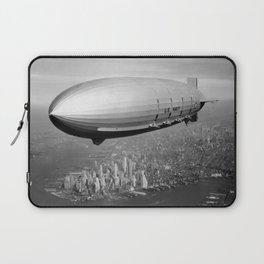 Airship over New York Laptop Sleeve