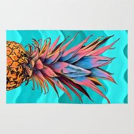 Colorful Pineapple Rug
