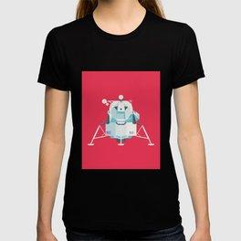 Apollo 11 Lunar Lander Module - Plain Crimson T-shirt