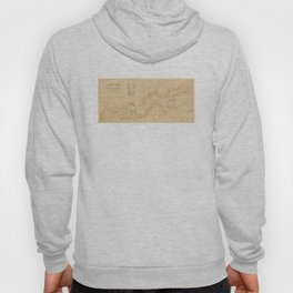 Vintage Map of Yosemite Valley (1907) Hoody