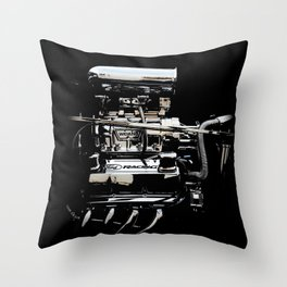 1932 Ford Hot Rod - Engine Throw Pillow