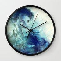 tea Wall Clocks featuring Tea by Anna Dittmann