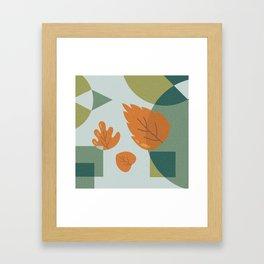 The Leaves Framed Art Print