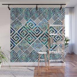 Greek Meander Pattern - Greek Key Ornament Wall Mural