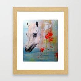 Gray Mare Framed Art Print