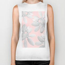 White Blush Cacti Vibes #2 #plant #decor #art #society6 Biker Tank