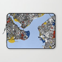 Istanbul mondrian Laptop Sleeve