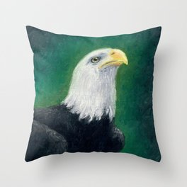 Chip the Eagle Throw Pillow
