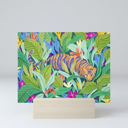 Colorful Jungle Mini Art Print