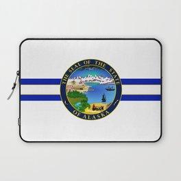 State of Alaska Seal Laptop Sleeve