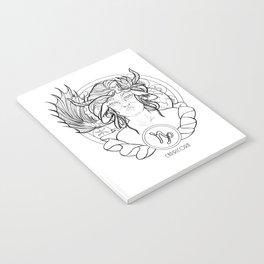 Zodiac Series | Capricorn Notebook