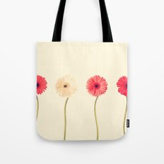 Technicolour Flowers  Tote Bag