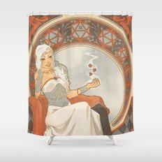 Game Nouveau Shower Curtain