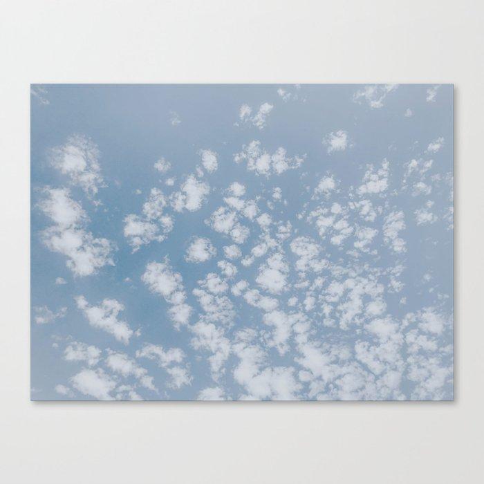summer clouds Leinwanddruck