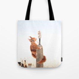 Squirrel-zilla Tote Bag