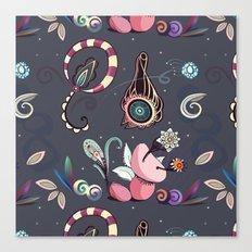 camtric fantasy pattern Canvas Print