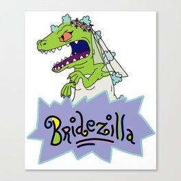 Rugrats Bridezilla Reptar Canvas Print