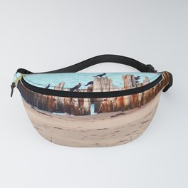 Perched on Wharf Remains Fanny Pack