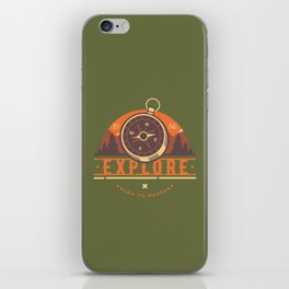 Compass Explore iPhone Skin