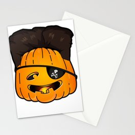 kim jong pumpkins Stationery Cards