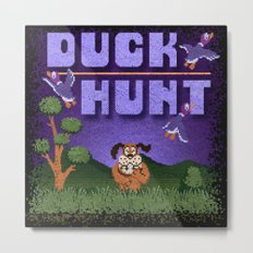 Hunt Duck Metal Print