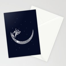 Skate in space Stationery Cards