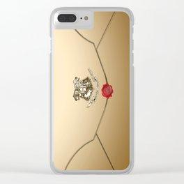 Hogwarts Envelope Clear iPhone Case