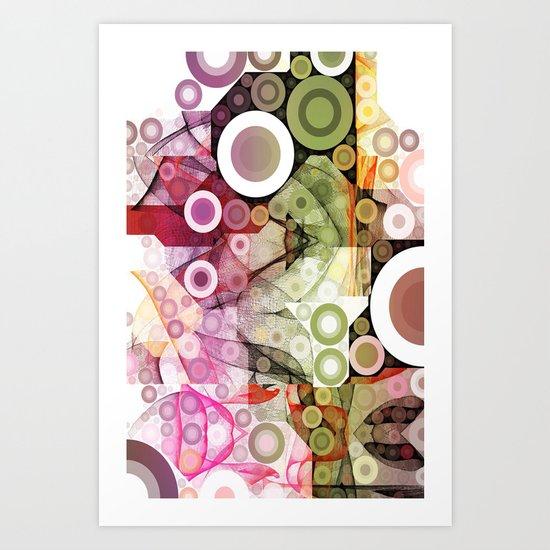 Kringles Art Flow II Art Print
