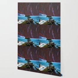 Lone Cypress Stars Wallpaper
