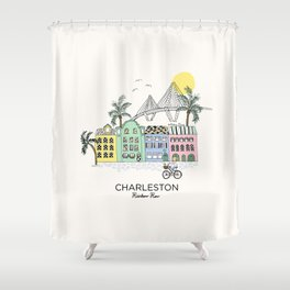 Charleston, S.C. Shower Curtain