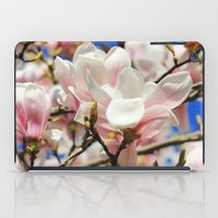 magnolia iPad Cases featuring  Magnolia. by Assiyam