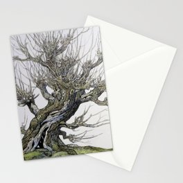 Fantasy Womping Willow Tree Stationery Cards